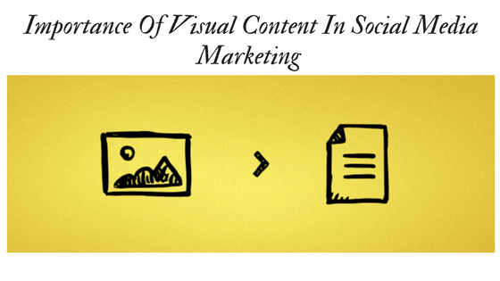 Importance Of Visual Content In Social Media Marketing
